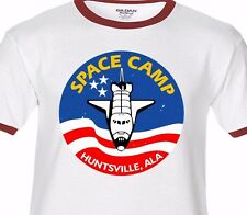 SPACE CAMP Huntsville ALA -Premium T-shirt Ringer or Tank Top - nasa shuttle