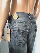 NWT TRUE RELIGION MEN'S BRAND JEANS RICKY WFLAPS STRAIGHT, $298 SZ 28, AUTHENTIC