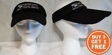 USPS Postal Extended Visor Wide Brim Beach Sun Cap Hat Summer Golf Tennis Sports