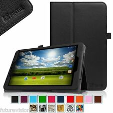Sprint Slate 10 Inch (AQT100) 4G LTE Tablet (2015 Release) Leather Case Cover