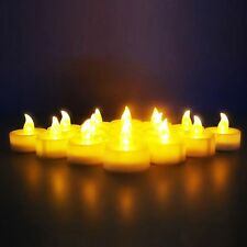 Novelty Place 12/24/48/96 LED Flickering Candles Flameless Tealight Tea Candle