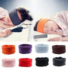 Women Men Sports Headband Portable Sleeping Headphone Stretch Hair Head Band