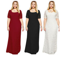 New Women Long Maxi Formal Summer Wedding Evening Cocktail Party Slim Plus dress