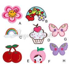 Various Patterns Embroidered Iron On Patch Sew Motif Cloth Applique Accessories