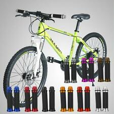 """Motorcycle Aluminum Rubber Gel Hand Grips for 7/8"""" Handle Bar Sports Bikes"""