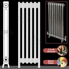 "The ""Mayfair"" 2 Column 1040mm (High) Cast Iron Radiators (3 to 40 Sections Wide)"
