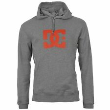 DC Shoes Corpo Pullover Hoody Mens Grey Hooded Sweater Sweatshirt Jumper