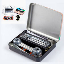 Mini Portable Cycling Bike Bicycle Repair Tire Tyre Tool Set Kit Rubber Patch