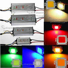 Lots 10W 20W 30W 50W Waterproof High Power  LED Driver Supply Adapter+LED Chips
