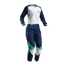 THOR Motocross trousers + Jersey 2016 Women - Phase Clutch - navy white