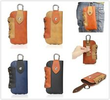 Vintage Leather Belt Clip Waist Case Holster For All Phone iPhone Samsung LG HTC