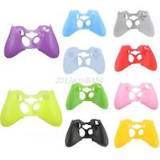 Fashion Rubber Protective Skin Case Cover for XBOX 360 Controller Game Gamepad