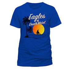 EAGLES OF DEATH METAL T-SHIRT SUN LOGO SIZE M,L,XL+XXL New