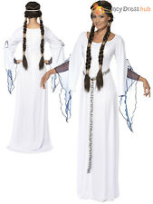 Ladies Medieval Maid Costume Adult Robin Hood Fancy Dress Princess Marion Outfit
