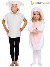 Age 2-9 Child Easter Bunny Rabbit Lamb Fancy Dress Costume Boys Girls Outfit