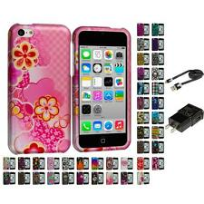Design Color Hard Snap-On Rubberized Case Cover for Apple iPhone 5C Accessories