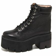 8815N stivaletto JEFFREY CAMPBELL NIRVANA nero anfibio donna boots women