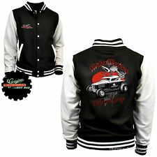 Varsity Hot Rod Jacket College Baseball Rockabilly-kustom Garage Rat 1053
