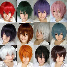 Anime Tokyo Ghoul Wig Cosplay Short Straight Heat Resistant Synthetic Hair Wig