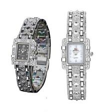 Fashion Women's Stainless Steel Bracelet Analog Quartz Wrist Watch For Girl Gift