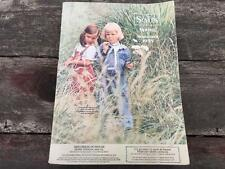 1975 SEARS Spring and Summer Department Store Catalog Retro Mod Era