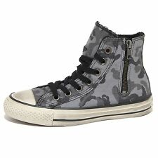 9076N sneaker CONVERSE ALL STAR grigio camouflage scarpe donna shoes women