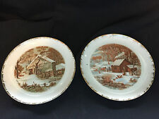 "Currier & Ives 7"" Collector's Plates"