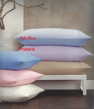 Wisteria Or Pale Blue Flannelette Sheet Set - Queen Or King Bed  Soft & Fluffy