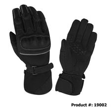 Premium Goat Skin Perforated mesh fabric & Leather Motorcycle Gloves 19002