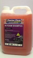 5 LITRE CONCENTRATE CAR SHAMPOO CHERRY WASH VALETING BUSINESS PRODUCTS