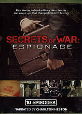 Secrets of War: Espionage - 10 Episodes (DVD, 2013, 2-Disc Set) NEW
