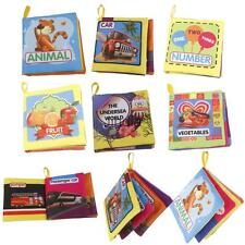 Kids Cognize Books Cloth Book Infant Baby Intelligence Development Toys Gifts