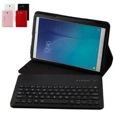 Leather Wireless Bluetooth Keyboard Case Cover for Samsung Galaxy TAB E T560