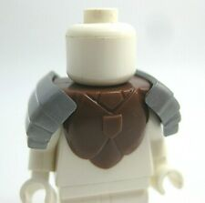 Custom BATTLE ARMOR with PAULDRONS for Lego Minifigures -Brickforge- Pick Color