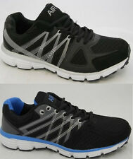 MENS AIR TECH RUNNING TRAINERS CASUAL LACE UP RUNNING GYM WALKING SPORTS SHOES