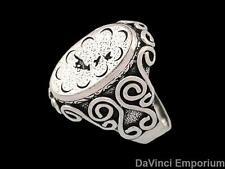 Wheel of Time Mat Cauthon's Small Signet Ring in Sterling Silver