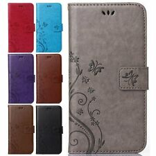 Cards Slot Leather Clip Wallet Stand Holster Case Cover For Apple iPhone 5&5s SE