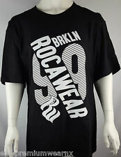 Mens Rocawear Urban Black T-shirt BNWT 3XL 4XL 5XL 6XL Big and Tall Plus Size