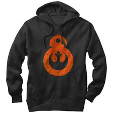Star Wars BB-8 Rebel Mens Graphic Lightweight Hoodie
