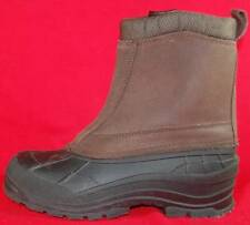 Men's ITASCA Brown Leather Insulated Waterproof Winter Snow/Rain Boots New