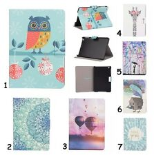 Painting Ultra Slim Card Leather Stand Case For Amazon Kindle Paperwhite / Fire