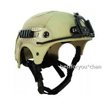 US SEAL IBH ADJUSTABLE HELMET NIGHT VISION MOUNT RAIL AIRSOFT MULTI COLORS