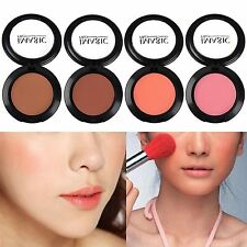 New Pro Compact Cheek Blusher Natural Cosmetic Soft Pressed Face Blush Powder