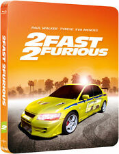 2 Fast 2 Furious Limited Edition Steelbook Blu-ray UK Exclusive NEW SEALED