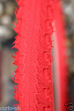 2 of BMX TYRES TIRES ALL RED 16 x 1.90 LS2776 COLOURED