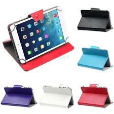 Anti-Dust PU Leather Folio Stand Corners Retractor Cover Case For 7'' Tablet PC