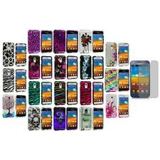 Design Cover Case+Screen Protector for Samsung Epic Touch 4G Sprint Galaxy S2