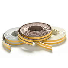 E/D/I Type Foam Draught Self Adhesive Window Door Excluder Rubber Seal Strip EW