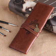 Twilight New Moon Leather Make up Cosmetic Pen Pencil Case Pouch Purse Bag FE