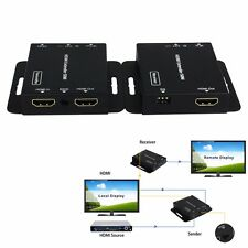 1080p HDMI Extender With POE Over Single RJ45 Cat5e/6 Up 50m/164ft + IR extends